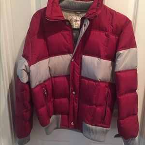 Vintage 80s Chess King Down Jacket